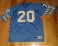 Mens Vintage Champion Detroit Lions Barry Sanders Football Jersey Size 52
