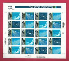 3552 - 3555   US ...Winter Olympics.. .Never Hinged Sheet issued year 2002