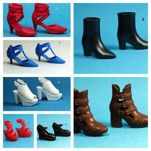Barbie Fashionistas Sandals Boots Shoes Choose Pick one for CURVY TALL Heeled