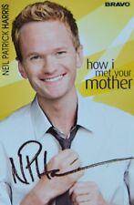 NEIL PATRICK HARRIS - Autogrammkarte - Autograph Clippings How I met your Mother
