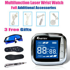 LASTEK 3R LLLT Laser Therapy Wrist Watch Full Assembly Treatment + 3 Free Gifts