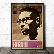 Max Roach arte cartel Música Jazz Blue Note Coltrane Sun Ra Miles Davis