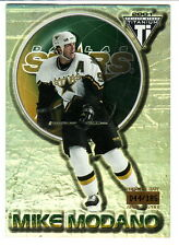 2000-01 Private Stock Titanium PREMIERE DATE #29 MIKE MODANO 44/185 Dallas Stars