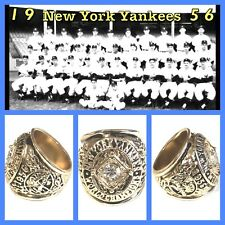 New York Yankees 1956 Championship Ring Size 11