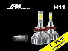 32W 2200LM H11 LED 6000K Headlight Kit White Power High Low Fog Light Beam Bulbs