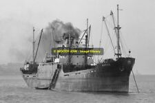 mc0523 - Turkish Cargo Ship - Merve , built 1945 - photo 6x4