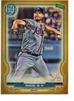 Will Smith 2020 Topps Gypsy Queen 5x7 Gold #252 /10 Braves
