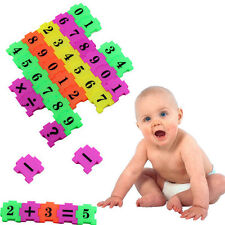 36Pcs Baby Child Number Symbol Puzzle Foam Maths Educational Toy Gift *