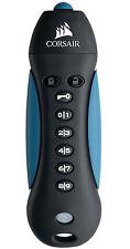16GB Corsair USB3.0 FIPS 197 Encrypted Flash Drive Black/Blue