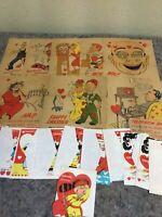 Lot Of Unused Vintage Valentine's Day Cards Plus Similar Comics