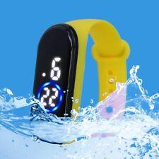 Fashion Sports Watch For Kids Children Waterproof Led Digital Watch Ultra-light
