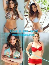 Kelly Brook - 10x8 & 8x6 inch Photo's #m2 in assorted Skimpy Shiny Bikini's