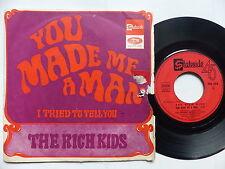 THE RICH KIDS You made me a man FSS  574