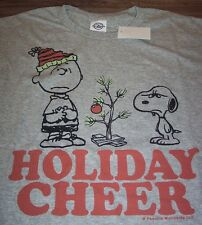 PEANUTS SNOOPY A CHARLIE BROWN CHRISTMAS HOLIDAY CHEER T-Shirt 2XL NEW w/ TAG