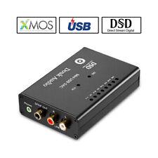 AK4490 XMOS USB DAC Audio Decoder COAX SPDIF Converter Headphone Amp DSD PCM384K