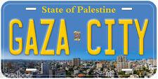Gaza City Novelty Car License Plate P01