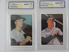 2 ROGER MARIS CARDS 1978,1979 TCMA-- YANKEES WCG GRADED GEM MINT 10