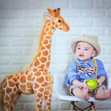 Giraffe Plush Doll kids Toy Giant Large Stuffed Animals Soft Xmas Gift 100Cm Uk