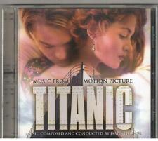CD TITANIC OST Music By James Horner  My Heart Will  Go On  By Celine Dion