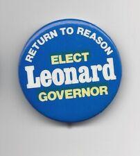 Tennessee Senator Pin Back Howard Baker Campaign Political Button 1978 Local