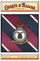 Postcard RAF Royal Air Force Station BURTONWOOD Crest Badge No.123 NEW