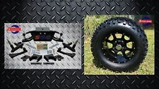 "Club Car DS Golf Cart 6"" A-Arm Lift Kit + 12"" Wheels and 23"" Tires 1982-2003"