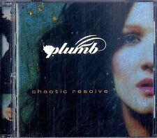 PLUMB Chaotic Resolve CD Near Mint