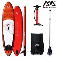 AQUA MARINA Monster ATLAS SUP inflatable Stand Up Paddle mit Sport Alu Paddel
