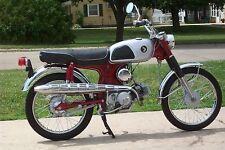 1967 Honda CL90 Scrambler