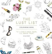 The Lust List: Colouring Book by Spratt, Sally | Paperback Book | 9780751567564