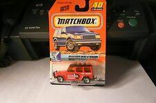 1999 rare Matchbox Mercedes-Benz G Wagon # 40 FIRST EDITION  Space Explorer moc