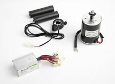 24V 150W ZY6812 Electric Motor w Sprocket, Speed Controller & Thumb Throttle DIY