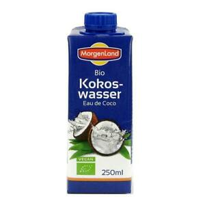 (0,40 EUR/100 ml) Morgenland Kokoswasser vegan bio 250 ml