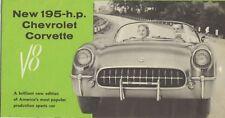 catalogue voiture americaine CHEVROLET 1955 CORVETTE TB état