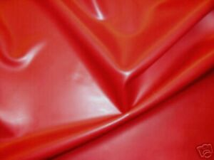 Latex Rubber Sheet, 0.80mm Thick,2m x 2.5m,78 x 97 inches, Red, Slight Seconds