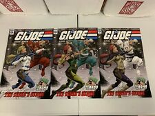 IDW G.I. JOE : A REAL AMERICAN HERO #256 : 3 COVERS BUNDLE : NM CONDITION