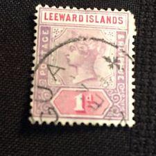 1890 Leeward Island Postage Stamp Used