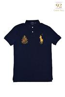 Ralph Lauren Polo Mesh Crest Men's Short Sleeve Shirt - Custom Slim Fit