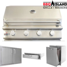 Bbq Island 32 Inch Grill and Accessories Package - Propane