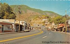 MANITOU SPRINGS CO 1970 Business District of Manitou Avenue Old Stores & Cars