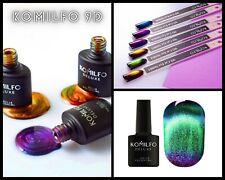 9D Cat Eye Gel Polish Komilfo Magnetic Polish Color  Changing  8 ml Nail Art