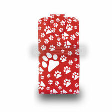 red footprints Flip Case Phone Cover for Samsung Galaxy Young GT-S5360 UK fast