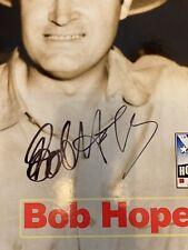 GI JOE Bob Hope Signed Autographed Heros Collection LIMITED EDITION COA JSA Rare