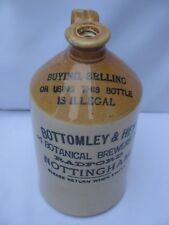 Half Gallon Stoneware Flagon Jar Pot Bottomley & Hey Nottingham