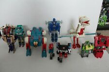 Transformers G1 Lot Sky Lynx Kup Springer Dinobots broken incomplete 1986