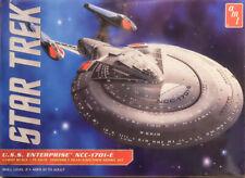 Star Trek U.S.S. Enterprise NCC-1701-E 1:1400 AMT Model Kit Bausatz AMT 853 USS