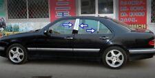 Poste De Puerta Cromo Acero S. pilares 4 puerta 6 un. fi̇ts Mercedes Clase E W210 0 1995-2002 2