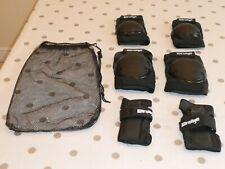 New listing *Karnage* Black 6 Pack Pad Protection Set Knee/Elbow/Wrist Adult Medium Bn rp£65