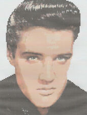 Elvis Counted Cross Stitch Kit
