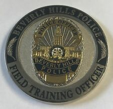 Beverly Hills Police Dept California FTO Field Training Officer Ductus Exemplo